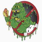 Ghostbusters Slimer by Skree