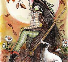 October Day Dreamer by Robin Pushe'e