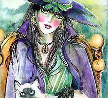 Witchy Woman by Robin Pushe'e
