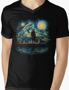 Starry Fall (Sherlock) Mens V-Neck T-Shirt
