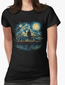 Starry Fall (Sherlock) Womens Fitted T-Shirt