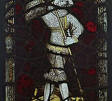 Stained Glass, George & The Dragon, Burrell Collection by MagsWilliamson