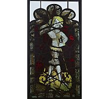 Stained Glass, George & The Dragon, Burrell Collection Photographic Print
