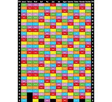Annual Planner 2014 Photographic Print