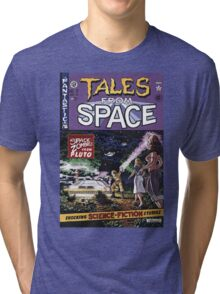 Back to the Future Tales from Space comic cover Tri-blend T-Shirt