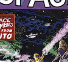 Back to the Future Tales from Space comic cover Sticker