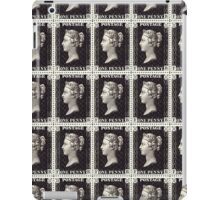 Penny Black Stamp (1d) 1840 iPad Case/Skin