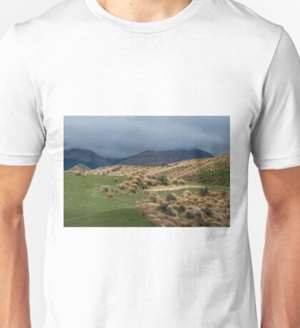 Red Tussock Grass Reserve Unisex T-Shirt