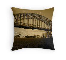 Sydney from Kiribili  Throw Pillow