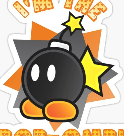 I'm the Bob-omb! Super Mario Sticker