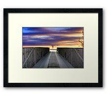 Bridge To Armageddon Framed Print