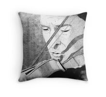 Holmes and Violin Throw Pillow