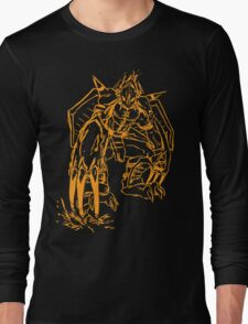 Wild Wargreymon - Color Ink Long Sleeve T-Shirt