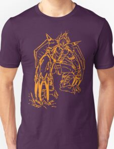 Wild Wargreymon - Color Ink T-Shirt