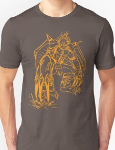 Wild Wargreymon - Color Ink Unisex T-Shirt