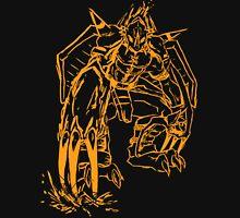 Wild Wargreymon - Color Ink Unisex T-Shirt