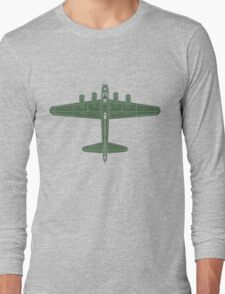 Boeing B-17 Flying Fortress Long Sleeve T-Shirt