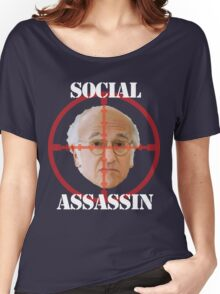 Social Assassin ( Curb Your Enthusiasm ) Women's Relaxed Fit T-Shirt
