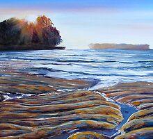 Sunset Beach by HelenBlair