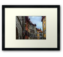 Annecy 1 Framed Print