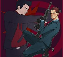 Teen Wolf AU Hitman by reborngp