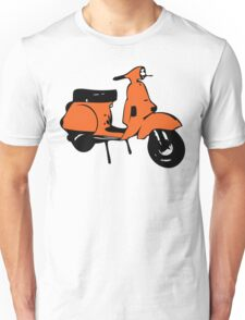 orange vespa px Unisex T-Shirt