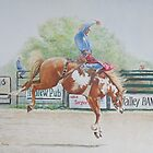 Saddle Bronc by Charlotte Yealey