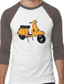 light orange vespa px Men's Baseball ¾ T-Shirt
