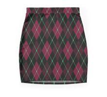 Your Fav Argyle Socks Mini Skirt