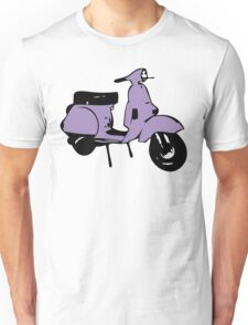 purple vespa px Unisex T-Shirt