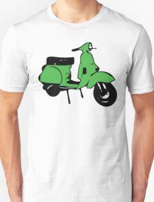 green vespa px T-Shirt