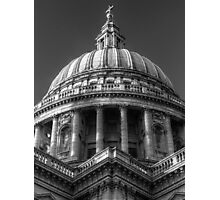 Saint Paul's Cathedral 1 B&W Photographic Print