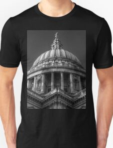 Saint Paul's Cathedral 1 B&W T-Shirt