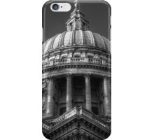 Saint Paul's Cathedral 1 B&W iPhone Case/Skin