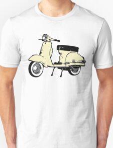 Cream White Vespa Sprint Unisex T-Shirt