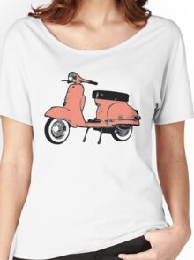 red Vespa Sprint Women's Relaxed Fit T-Shirt