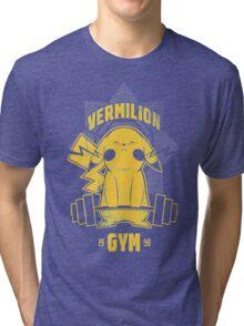 Christmas Gift Vermilion Gym Unisex Tshirt Tri-blend T-Shirt