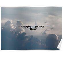 C130-Hercules ....In Trail Poster