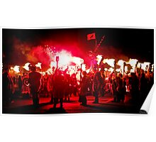 Up Helly Aa Poster