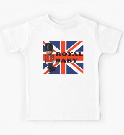 Royal Baby Soldier Kids Tee