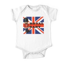 Royal Baby Soldier One Piece - Short Sleeve