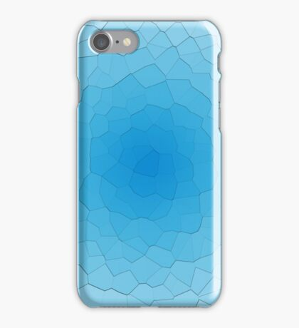 Frozen Blue Ice iPhone Case/Skin