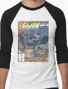 G.I. Joe Men's Baseball ¾ T-Shirt