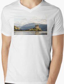 Eilean Donan Castle Mens V-Neck T-Shirt