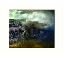 Cliffs, Crags, Prows Art Print