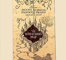 Maurader's Map by Crystal Friedman