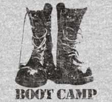 Boot Camp t shirt by toddalan