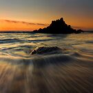 Fogarty Creek Sunset by DawsonImages