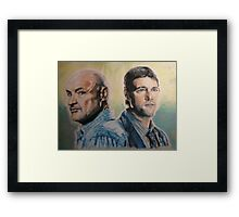Man of Science, Man of Faith- Lost Framed Print