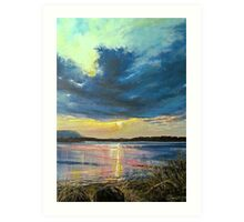 love Irish sky Art Print